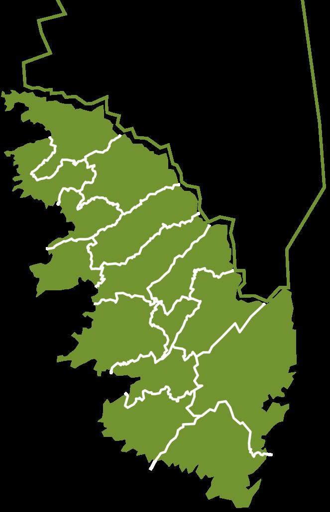 Organigramme et Carte Secteur Corse du Sud